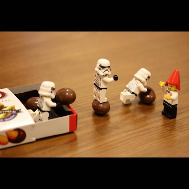Stealing chocolates
