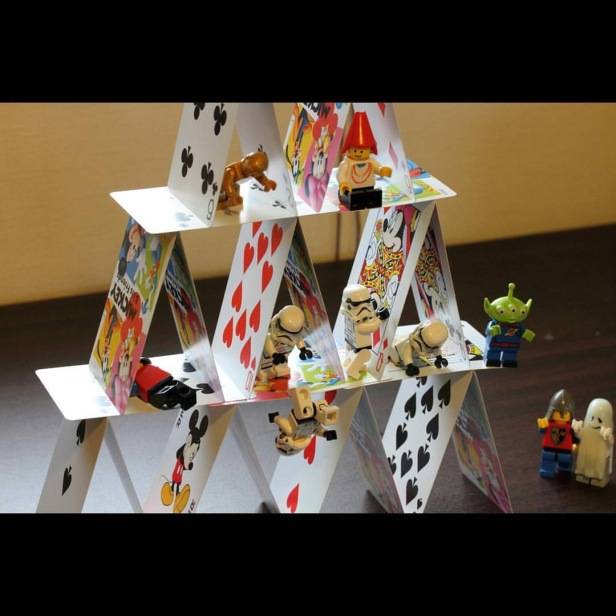 Building a house of cards