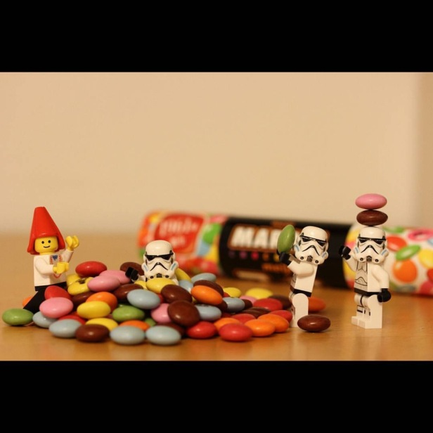 Hiding in chocolates