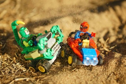 Mighty Micros - Spider-Man vs Scorpion