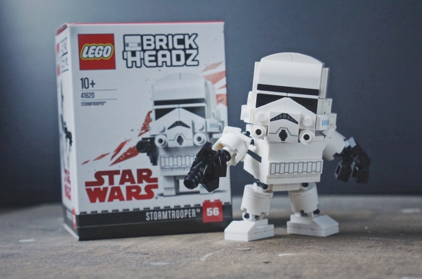 Brick Pixels - Upgraded Stormtrooper LEGO Brickheadz model