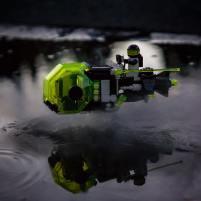 Rey's Speeder/Blacktron 2 remix