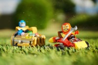 Mighty Micros - Iron Man vs Thanos